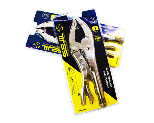"""Picture of WIDTH MOUTH Locking Pliers 10"""""""